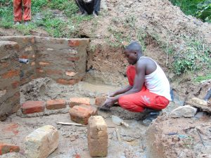 The Water Project:  Brick Work Continues