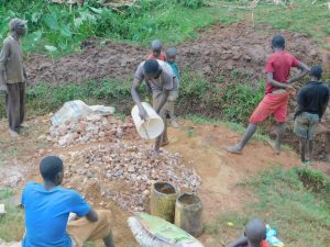 The Water Project:  Delivering Materials To Site