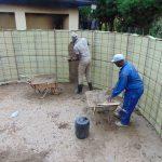 The Water Project: Kerongo Secondary School -  Interior Cement Work Begins