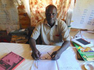 The Water Project:  Head Teacher Mr John Kosgei