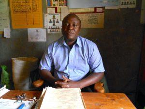 The Water Project:  Teacher Mr Moses Maadzanza
