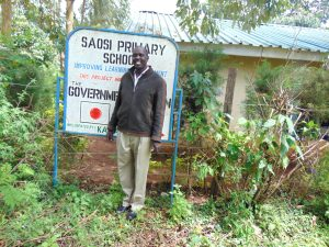 The Water Project:  Headteacher Joseph Kiplimo