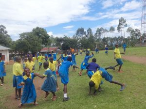 The Water Project:  Pupils Play On Break
