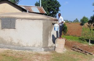 The Water Project:  Curing Cement With Water