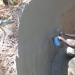 The Water Project: St. Joseph's Lusumu Primary School -  Plaster Work