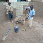 The Water Project: Kerongo Secondary School -  Interior Cement Work