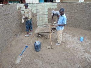 The Water Project:  Interior Cement Work
