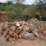 The Water Project: Utuneni Community B -  Rocks For Construction
