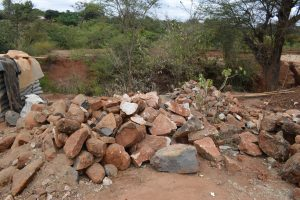 The Water Project:  Rocks For Construction