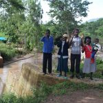The Water Project: Utuneni Community B -  Community Members At The Dam