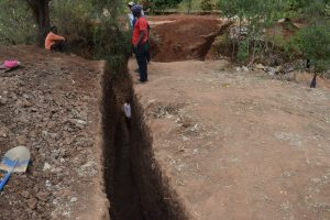 The Water Project:  Wing Wall Trench