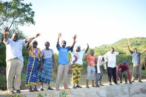 The Water Project:  Celebrating The Completed Dam