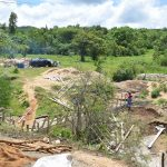The Water Project: Kithumba Community D -  Dam Construction