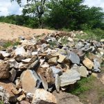 The Water Project: Kithumba Community D -  Rocks For Dam Construction