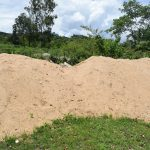 The Water Project: Kithumba Community D -  Sand For Cement Mixing
