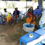The Water Project: Kaketi Community A -  Soapmaking