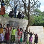 The Water Project: Kaketi Community -  Celebrating At The Sand Dam