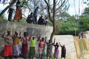 The Water Project:  Celebrating At The Sand Dam