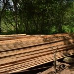 The Water Project: Kaketi Community -  Construction Materials