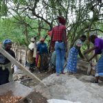 The Water Project: Kaketi Community -  Dam Construction