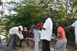 The Water Project:  Getting Water At The Well