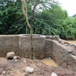 The Water Project: Kithumba Community E -  Well Construction Phase Three