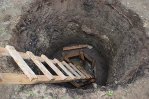 The Water Project:  Hole Dug For Well