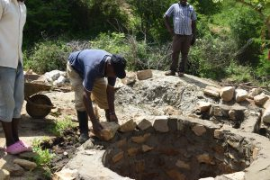 The Water Project:  Laying Bricks