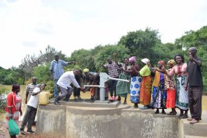 The Water Project:  Pumping Water From The Well