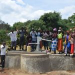 The Water Project: Kaketi Community A -  Shg Members Celebrate Their Well