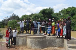 The Water Project:  Shg Members Celebrate Their Well