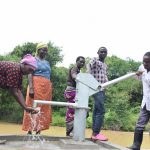 The Water Project: Kaketi Community A -  Water