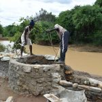 The Water Project: Kaketi Community A -  Well Construction Phase Four