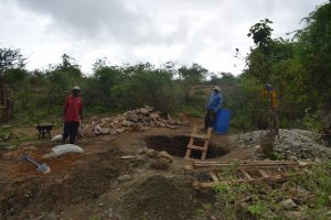 The Water Project:  Well Digging Site