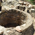 The Water Project: Kaketi Community A -  Well Progress