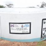 The Water Project: AIC Mbao Primary School -  Completed Tank