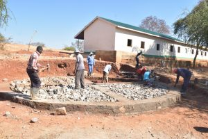 The Water Project:  Early Construction Phase