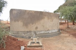 The Water Project:  Finished Tank Construction