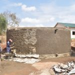 The Water Project: AIC Mbao Primary School -  Finishing Up Tank Walls