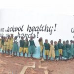 The Water Project: AIC Mbao Primary School -  Students At The Tank