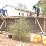 The Water Project: AIC Mbao Primary School -  Tank Wall Construction