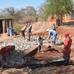 The Water Project: AIC Mbao Primary School -  Working On The Foundation
