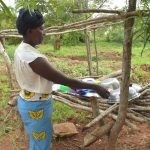 The Water Project: Kathamba ngii Community C -  Dishrack
