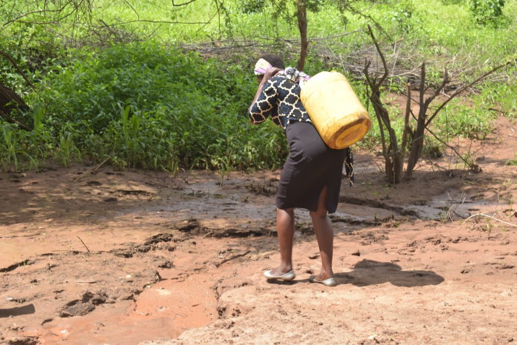 The Water Project : kenya20314-20315-carrying-water