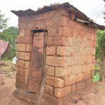 The Water Project: Kathungutu Community C -  Latrine