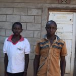 The Water Project: Yumbani Community A -  Amos And His Uncle