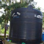 The Water Project: Yumbani Community -  Large Water Tank