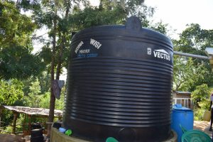 The Water Project:  Large Water Tank