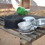 The Water Project: Yumbani Community A -  Dishrack