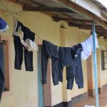 The Water Project: Mutulani Secondary School -  Clothes Hang To Dry Outside Of Dorms
